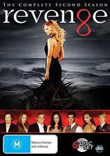 REVENGE (COMPLETE SEASON 2 DVD SET SEALED + FREE POST)