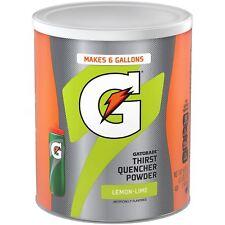 Gatorade LEMON-LIME Thirst Quencher Powder (50.9 oz) 1.44kg - USA Import