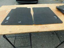 NOS NEW 2012 2013 FORD MUSTANG BOSS 302 OEM FRONT BLACK FLOOR MATS SET NEW NOS