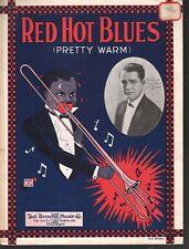 Red Hot Blues 1923 Sheet Music