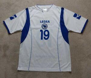 Bosnia Herzegovina Football Federation Legea Soccer Jersey Ibisevic #19 Sz XXL