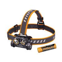 Fenix HM65R 1400 Lumen Dual Beam USB Rechargeable Headlamp Spotlight&Floodlight