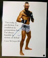 """CONOR MCGREGOR"" (16X20) AUTO/SIGNED! RARE PHOTO! (UFC!) ""THE NOTORIOUS""!!"