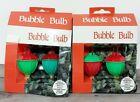 VTG Bubble Lights Replacement Bulbs 2 Packs Bubblelite Christmas Light Red Green