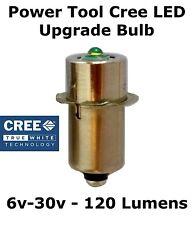 Cree Led Flashlight Bulb Bosch Dewalt Ryobi Makita 9.6v 12v 14.4v 18v Work Light