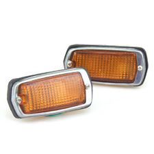 FIT DATSUN FAIRLADY Z 240Z 260Z 280Z 510 B210 SIDE MARKER LIGHT PAIR LH RH 70-78