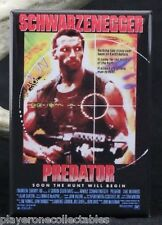 "Predator Movie Poster 2"" X 3"" Fridge / Locker Magnet. Schwarzenegger"