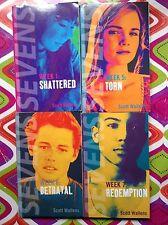 Lot of 4 Sevens Weeks 1, 5, 6 & 7 by Scott Wallens VGC Paperback