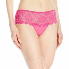 * NWT Simone Perele 'Caresse' Lace Boyshorts, Size 3  (Med 6-8) - Pink