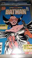 Batman #401 CGC 9.6 ( NM+ ) 1986  1st Print - John Byrne Cover - White Pages