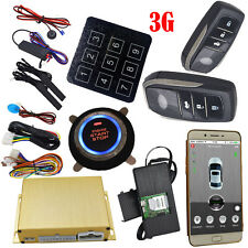 gps tracker car security alarm system with auto central lock remote start stop