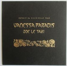 "VANESSA PARADIS - RARE CD SINGLE PROMO ""JOE LE TAXI - VERSION LIVE"""