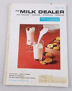 Maggio 1964 The Milk Dealer Rivista Pubblicità Colore Foto Cimeli Dairy