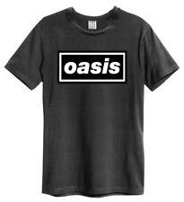 Oasis 'Logo' (Charcoal) T-Shirt - Amplified Clothing - NEW & OFFICIAL!