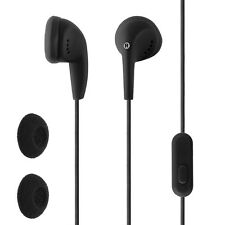 Circuit City In-Ear Wired Earbud with In-Line Microphone and Remote (Black)