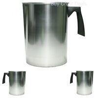 Heavy Duty Aluminum 4 lbs Pouring Pot For Melting Wax Candle & Soap Maker NEW!