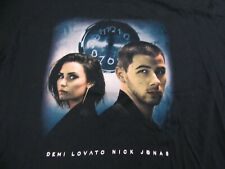 DEMI LOVATO NICK JONAS - FUTURE NOW 2016 tour  2XL t-shirt