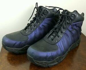 Vintage Nike Air Foamposite ACG Sz 12 333791-001 Eggplant Sneaker Boots