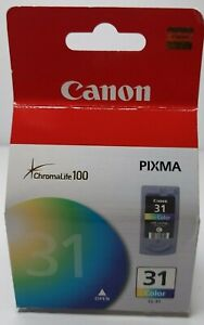 Canon CL-31 Color Ink Cartridge for Pixma Series - Brand New in Sealed Box
