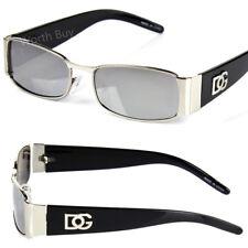 Dg Eyewear Hombre Mujer Rectangular Gafas Sol de Diseñador Moda Retro Vintage