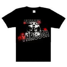 Bleeding Through - Scissors  Music punk rock t-shirt  M- XL  NEW