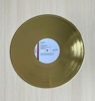 Radiohead The Bends 1995 Custom Gold Plated Record In Excellent Condition