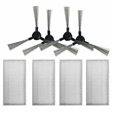 4x Filters + Brushes for My Genie ZX1000 Proscenic Summer Robot Vacuum Cleaner