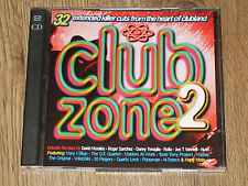 CLUB ZONE 2  ( 2XCD ) EXTENDED KILLER CUTS FROM THE HEART OF CLUBLAND   VGC  CD