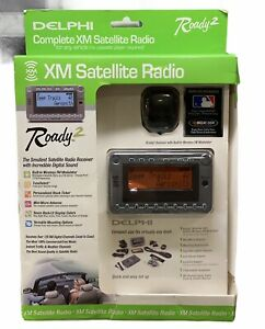 NEW Delphi Roady 2 XM Satellite Radio Receiver  Built-In Wireless FM Modulator
