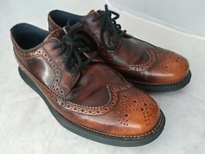 Cole Haan Lunargrand Distressed Look Casual Walking Shoes US Sz 7.5 M