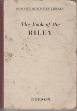 RILEY 9 NINE , 1.5 LITRE , RMA & RMB SALOON (1936-1950) OWNERS REPAIR HANDBOOK