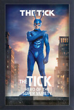 THE TICK CHARACTER 13x19 FRAMED GELCOAT COMIC TELEVISION FUNNY GIFT NEW WEB COOL