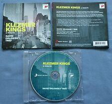 CD von  David Orlowsky Trio – Klezmer Kings - a tribute