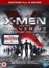 X-Men The Adamantium Collection (DVD, 2013, 6-Disc Set)