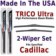 Buy American: TRICO Ultra 2-Wiper Blade Set: fits listed Cadillac: 13-22-21