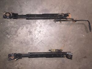 1990-2005 MAZDA MIATA MX5 LEFT HAND DRIVER SIDE OEM SEAT RAIL ADJUSTABLE