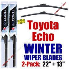 WINTER Wipers 2pk Super-Premium - fit 2000-2005 Toyota Echo - 35220/130