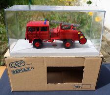 ancien camion pompier CEF replex 43 renault RVI citerne rural jn 90  ref 146