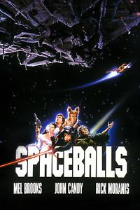 Spaceballs Movie Spaceship Poster 24x36 Inches