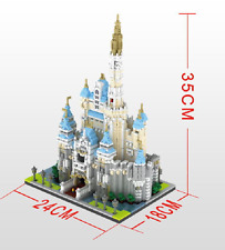 Castle Nano block 3D Building block toy The highest difficulty 4708pcs/sets