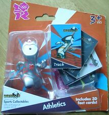 'Wenlock' Running Figure Athletics & 3D Fact Cards - London Summer Olympics 2012