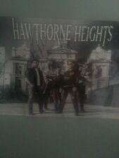Signed hawthorne heights poster