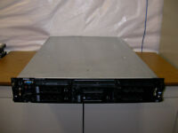Dell Poweredge 2850 Server 2x2.8GHz DC 64-Bit CPUs 3X146GB 15K RAID DRAC 4GB