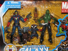 MARVEL Universe_GUARDIANS of the GALAXY__STARLORD_ROCKET RACOON_GROOT_DRAX figs.