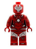 Custom Designed Minifigure Pepper Potts - Rescue Ironman Printed On LEGO Parts