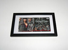 YOUNG MONEY Signed Autographed FRAMED CD Album COA! Twist, Mack Maine, Gudda++