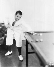 Gene Sarazen 1930's playing BILLIARDS photograph