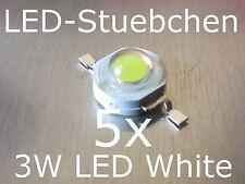 5x 3W High-Power LED Emitter Kaltweiss 700mA