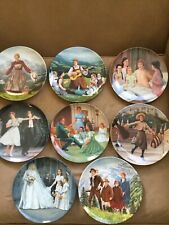 """Complete Set Of 8 """"The Sound of Music� Edwin W Knowles Collector Plates"""