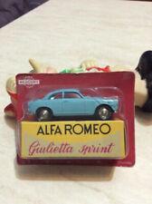 Articoli di modellismo statico Mercury Scala 1:43 per Alfa Romeo